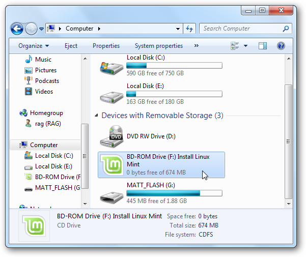 Install Linux Mint on Your Windows Computer or Netbook