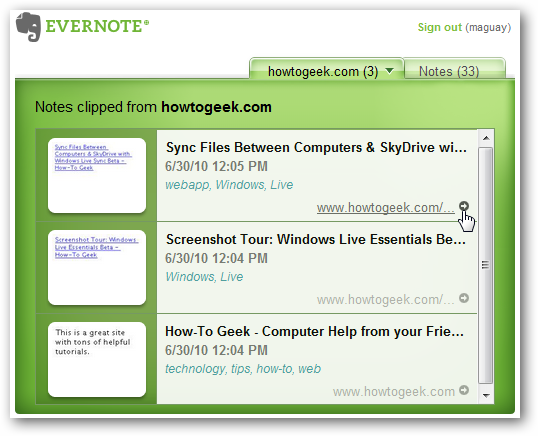 Beginner Geek: Remember Everything You See Online With