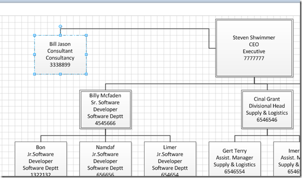 Build an Organization Chart In Visio 2010