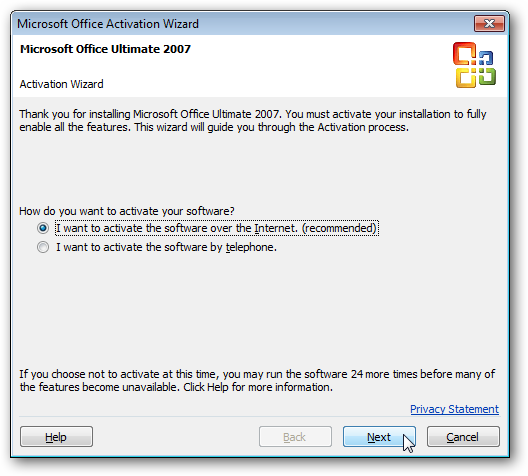 How To Activate Your Free Office 2007 to 2010 Tech Guarantee