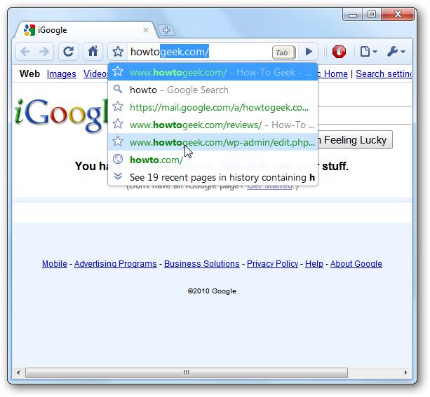 Make the Firefox Awesome Bar Semi-Transparent Like Google