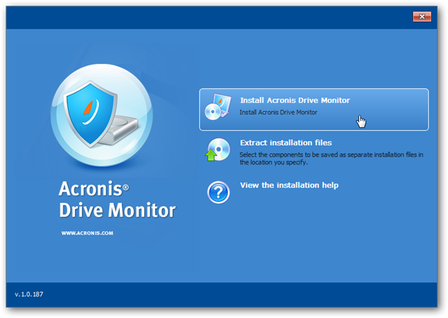 Acronis Drive Monitor Русификатор