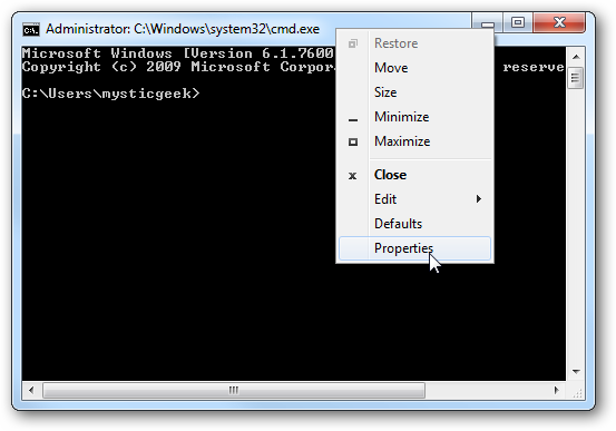 How to Make the Windows Command Prompt Wider