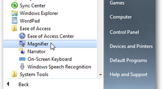 Make Text and Images Easier to Read with the Windows 7 Magnifier