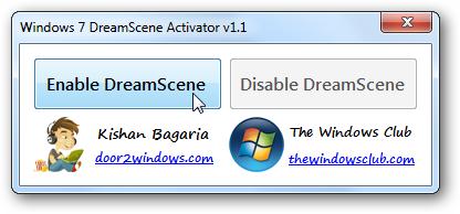 dreamscene windows 7 64
