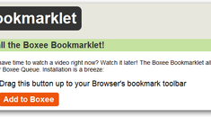 Add Videos to Your Boxee Queue Directly from Your Browser