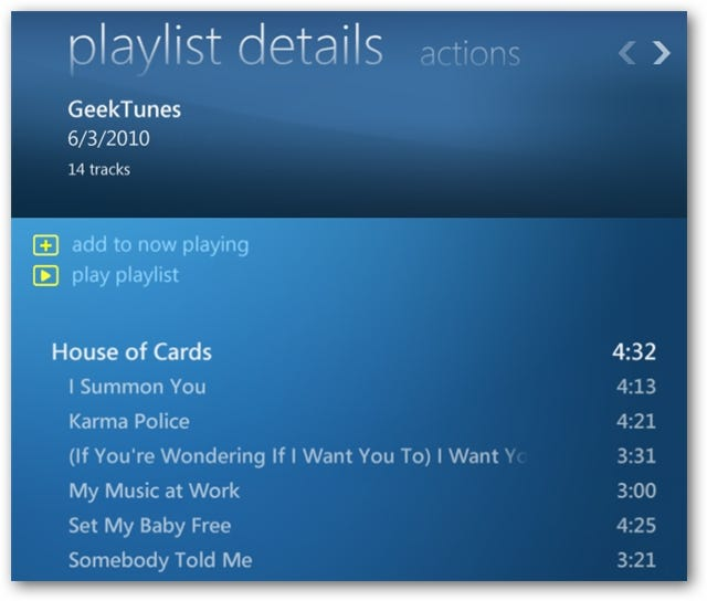 how to create and play a playlist in vlc