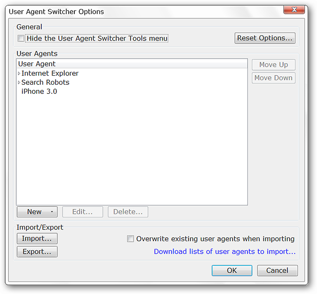 How To Change the User Agent String in Firefox