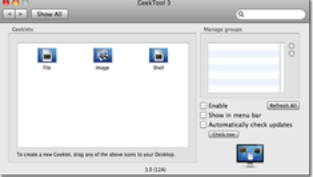 Desktop Customization: Introduction to GeekTool for OS X