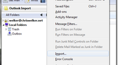Import Email From Outlook to Apple Mail.app Using Thunderbird