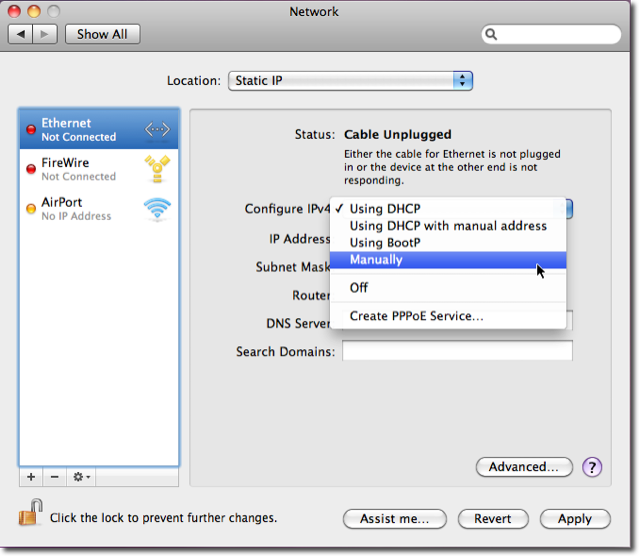 How to find my ip address on mac air