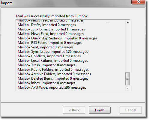 Import Email From Outlook to Apple Mail app Using Thunderbird