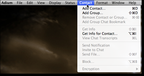 add contact