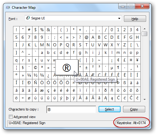Any Special Character With A Single Keystroke