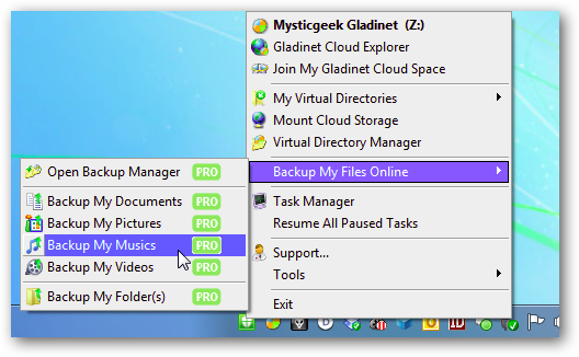 gladinet-cloud-storage