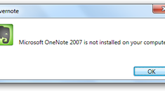 Import OneNote 2010 Notebooks Into Evernote