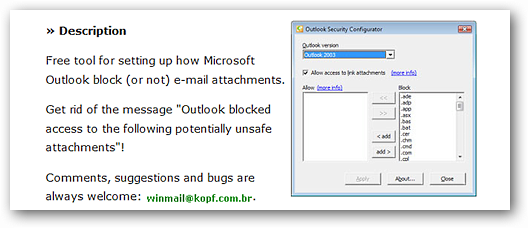 outlook-security-configurator