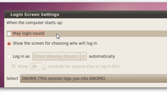 How to Disable Login Sounds in Ubuntu