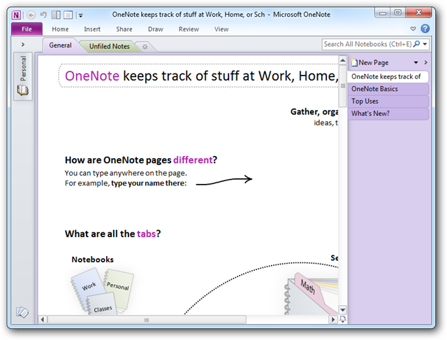 Beginner Geek: Getting Started With OneNote 2010