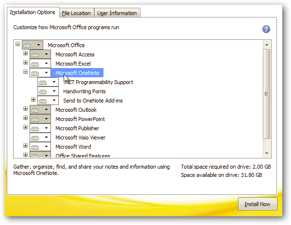 ms onenote 2010 free download