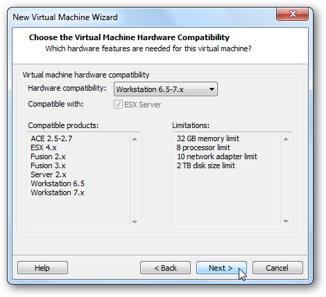 """How To Install Windows Home Server Beta """"Vail"""" on VMware Workstation"""