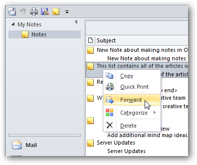 Beginner's Guide to Using the Notes Feature in Outlook