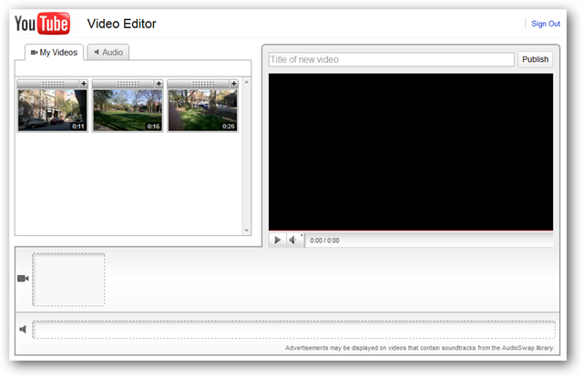 Quick and Basic Video Editing with the YouTube Editor