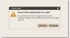 Force Quit an Unresponsive Graphical Application in Ubuntu