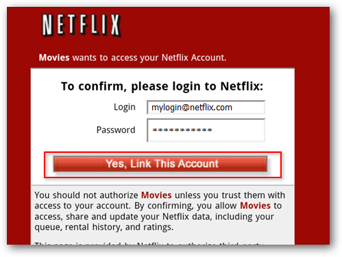 how to delete netflix account on android