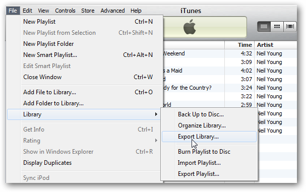 how to change the itunes library location in sonos