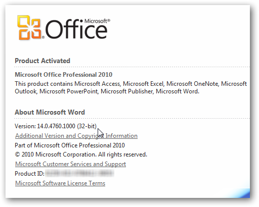Msoffice Outlook 2010 64 bit