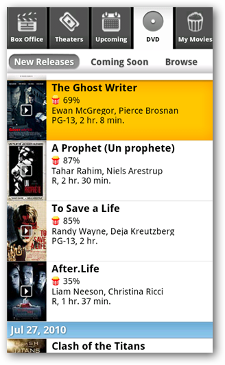 Manage Your Netflix Queue from an Android Phone - Tips