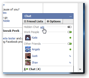 How to remove someone from facebook chat list