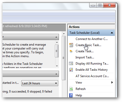 Schedule SyncToy to Run Automatically With Task Scheduler in