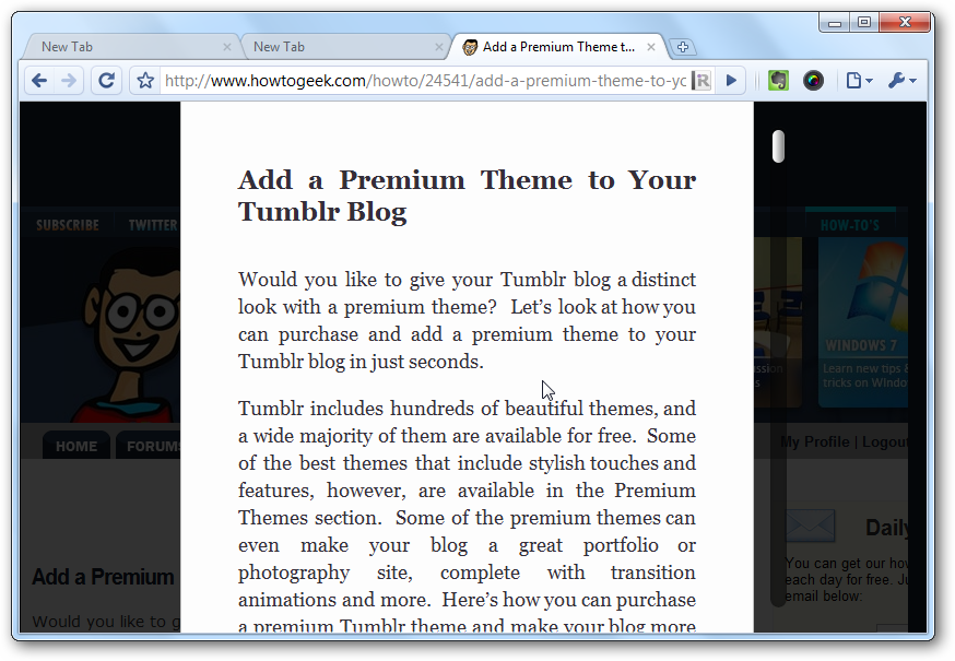 Get Safari Reader on Chrome and Firefox with iReader