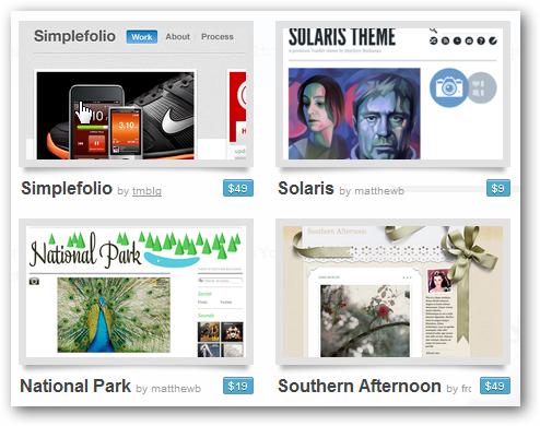 Add a Premium Theme to Your Tumblr Blog