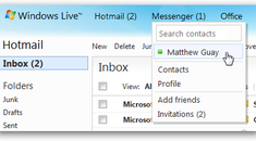 Disable Messenger in the New Hotmail Wave 4