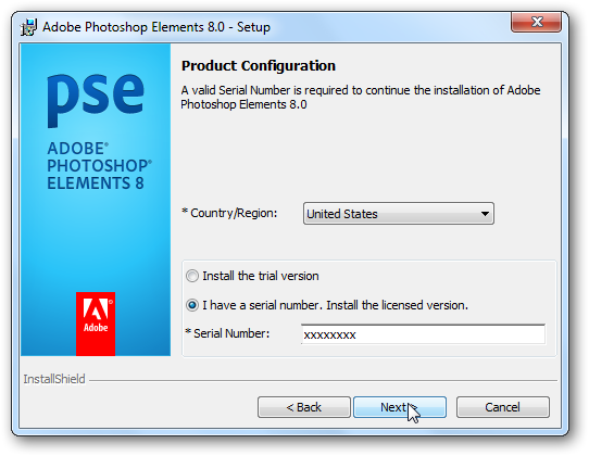 Adobe photoshop elements 11 serial number free download