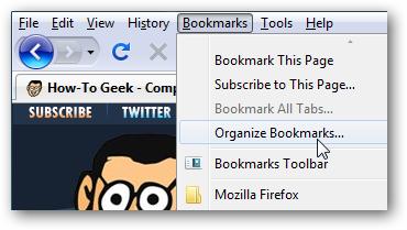 Import Firefox Bookmarks into Safari for Windows