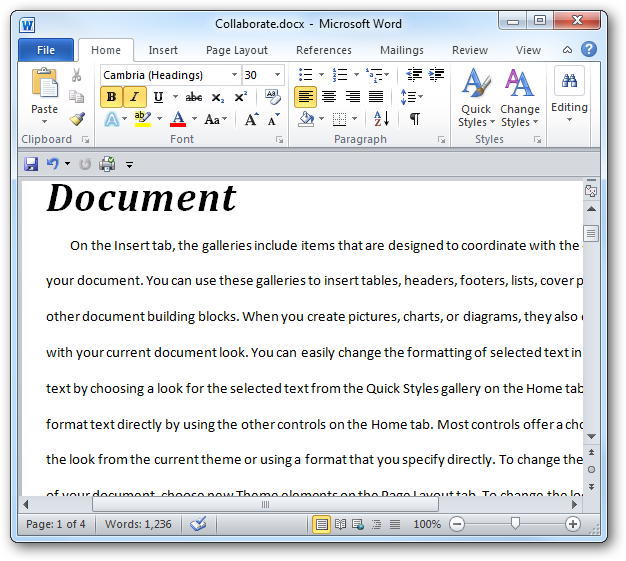 Customize The Default Line Spacing In Word 2007 2010