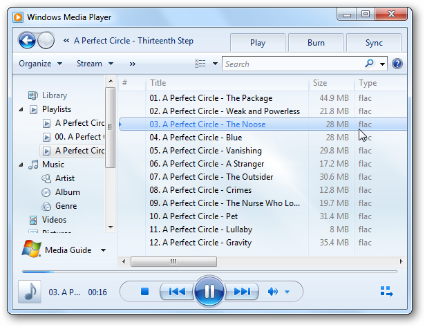 does windows media player play flac files