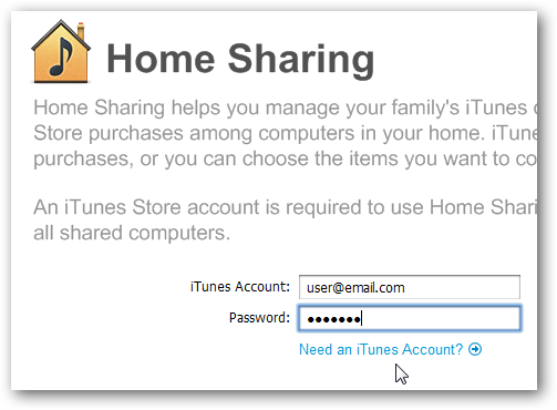 Can You Share Music Through Home Sharing