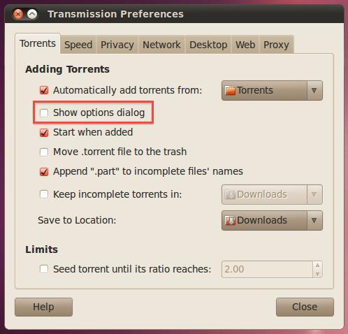 torrent installation folder