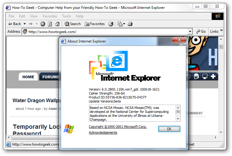 ie6 download microsoft