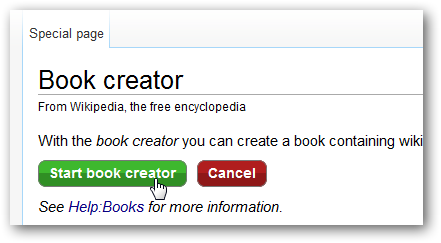Create an eBook or PDF from Wikipedia Articles for Offline