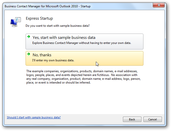purchase outlook 2010 standalone