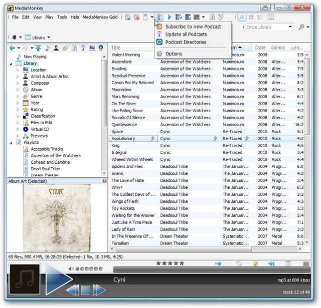 Manage Your iPod with MediaMonkey as an Alternative to iTunes for