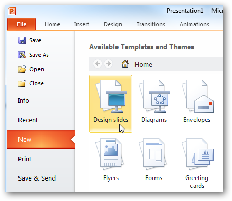 Beginner using templates in ms office 2010 2007 sshot 2010 09 12 16 55 46 toneelgroepblik Choice Image