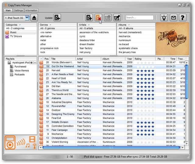 Here's Five Alternatives to iTunes 10 for Easily Managing Your iPod