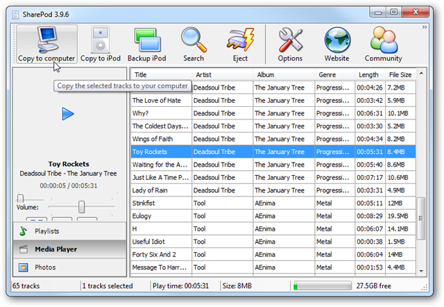 Here's Five Alternatives to iTunes 10 for Easily Managing